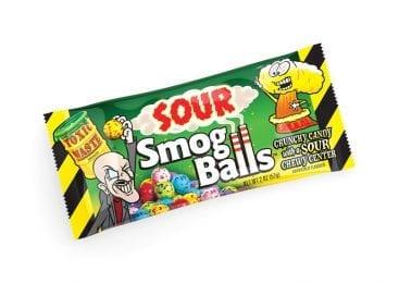 Toxic Waste Sour Smog Balls 2 oz. Fin Seal Bags