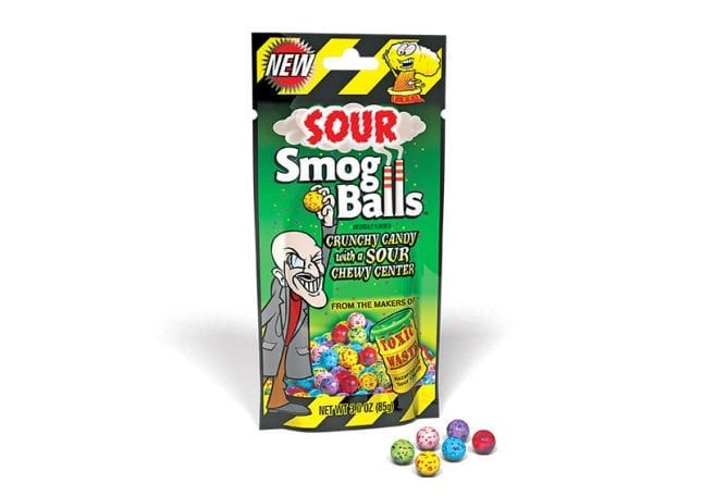 Toxic Waste Candy - Sour Smog Balls
