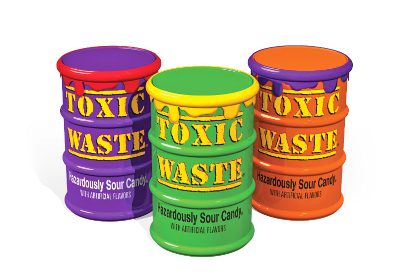 Toxic Waste Candy - Single Special Edition Drum