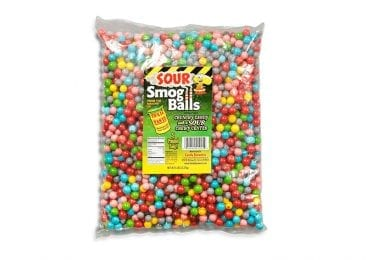 Toxic Waste Candy Smog Balls - Bulk