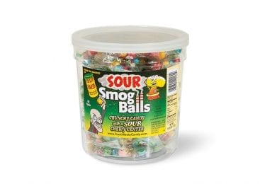 Toxic Waste Candy Smog Balls - Fishbowl (60ct)