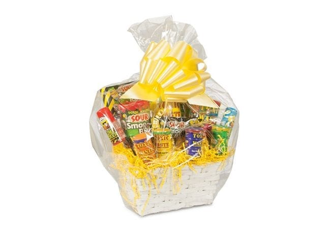 Toxic Waste Candy Gift Basket