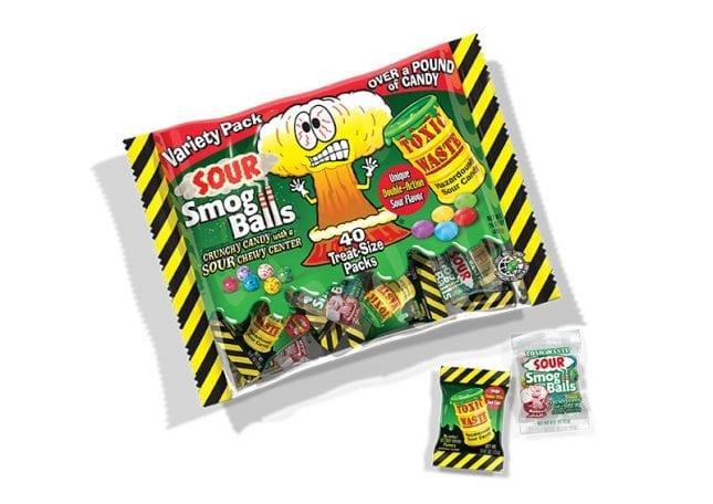 Sour Smog Balls Variety Bag