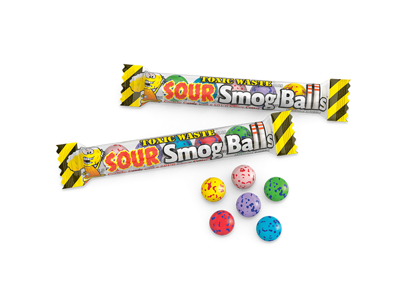 Toxic Waste Candy - Sour Smog Ball Shooters