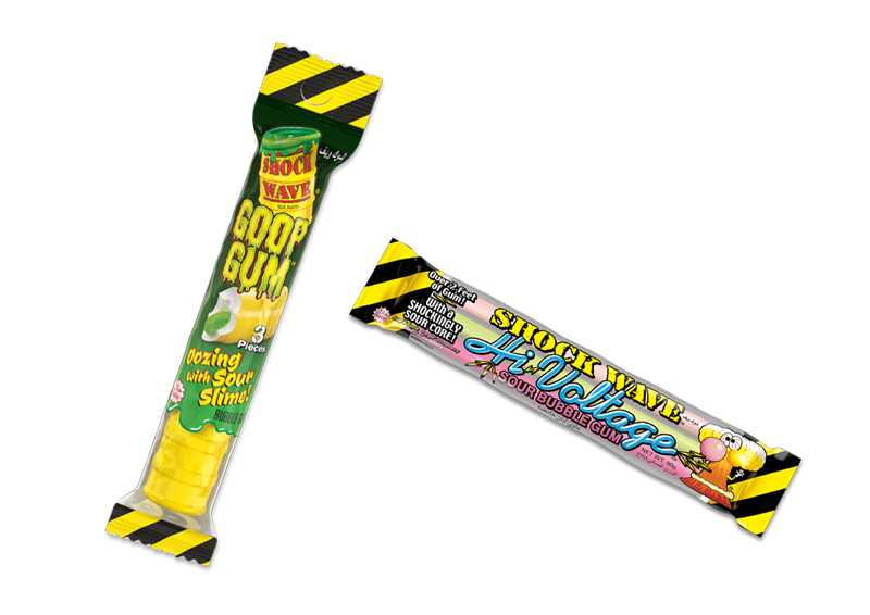 Shock Wave Goop and High Voltage Gums